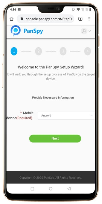 Install the Panspy App