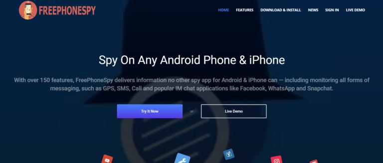 FreePhoneSpy App Review